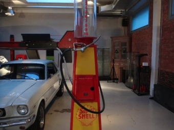 Super Shell Fuel Pump